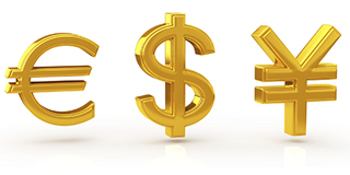 Корзина товаров с разными валютами